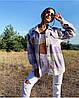 Рубашка-пальто женская в стиле oversize, фото 4
