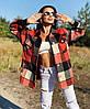 Рубашка-пальто женская в стиле oversize, фото 2