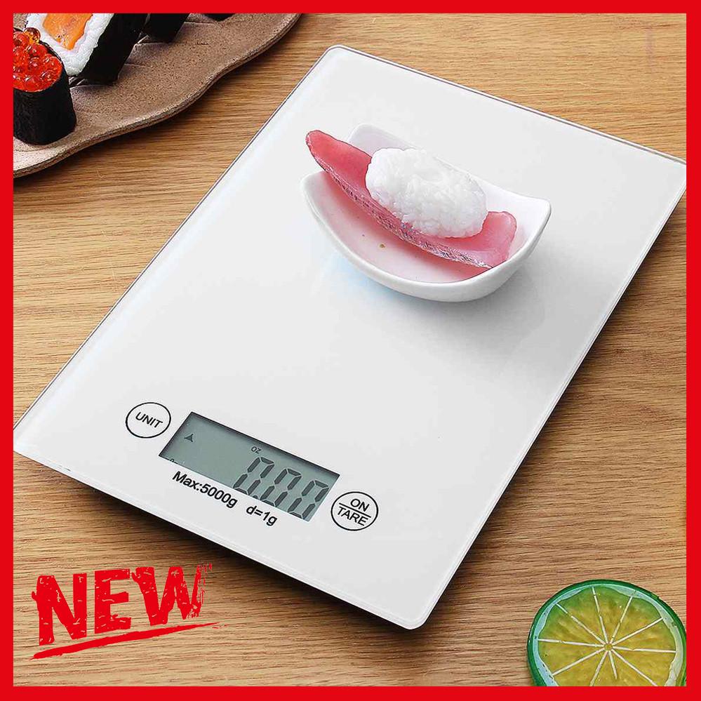 Весы кухонные электронные Electronic Kitchen Scale, Точные лучшие настольные бытовые весы на кухню Белые