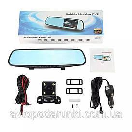 Автомобильное зеркало видеорегистратор  с камерой заднего вида ( экран 4.3 TFT/ FULL HD DVR 1920 X 1080 /