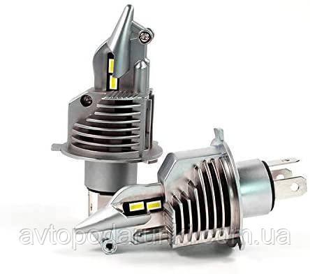 Автомобильные светодиодные LED лампы FIGHTER  70Вт 11600Лм 6500К 9-36v CREE GSP Цоколь H4