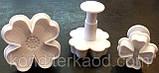 Плунжер   Цветок 4 лист 3 шт (кнопка), фото 8