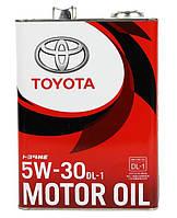 Моторное масло Toyota Diesel Oil DL1 5W-30 4л