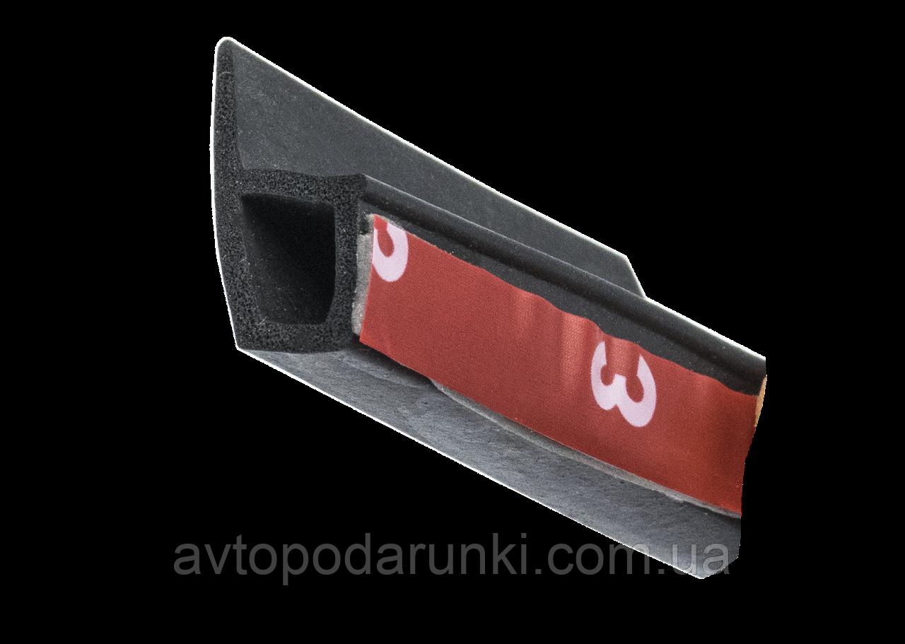 Универсальный уплотнитель для автомобильной  двери P type ( P-образная прокладка двери автомобиля 15мм х 22мм)