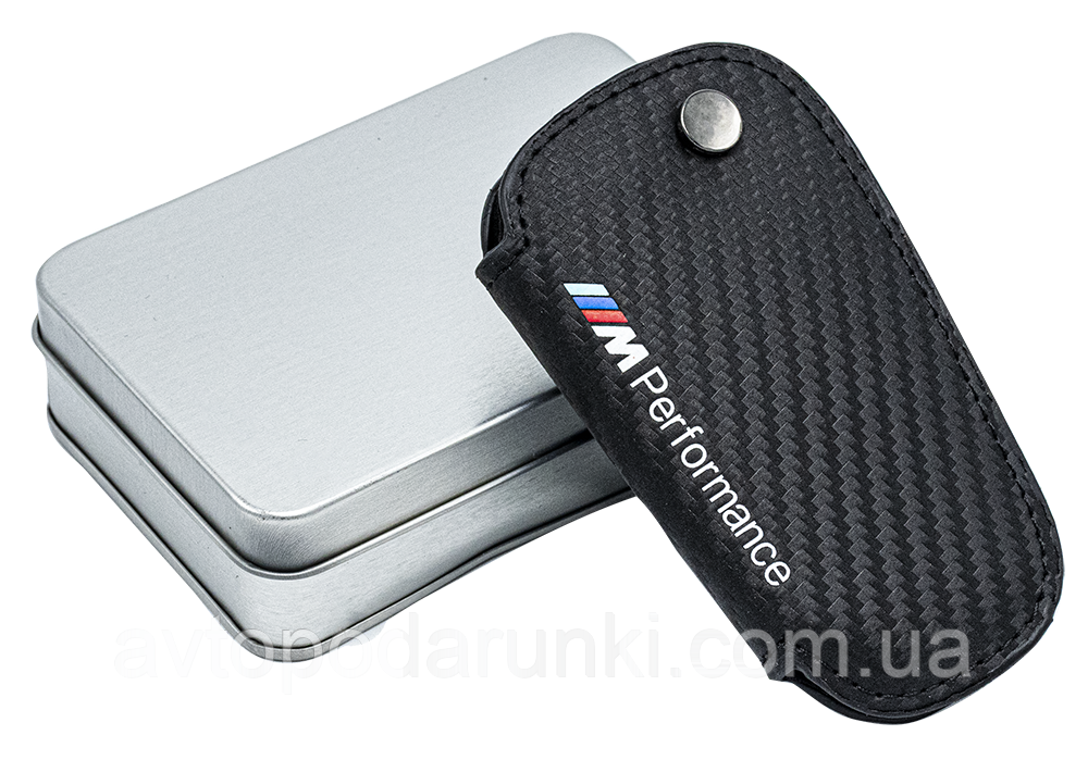"""Оригинальный чехол футляр для ключей BMW  """" M PERFORMANCE FF """""""