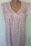 Ночная рубашка без рукава 50 размер Весна, фото 6