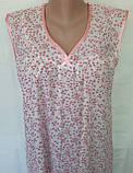 Ночная рубашка без рукава 50 размер Весна, фото 7