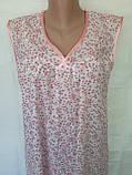 Ночная рубашка без рукава 50 размер Весна, фото 8