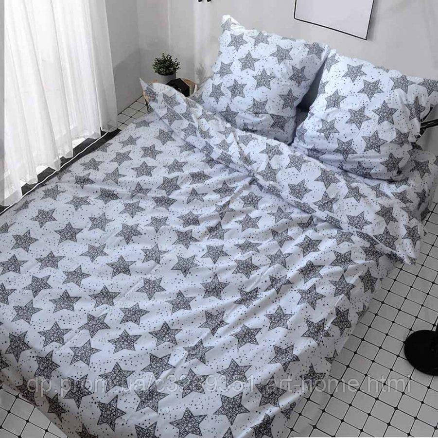 Двуспальное постельное белье Бязь Gold - Декор