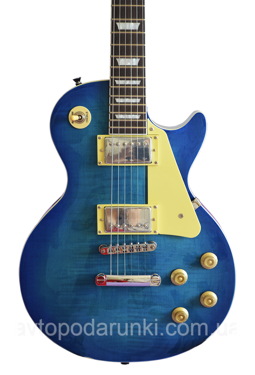 "Электрогитара Minsine Les Paul ""LP-480"" BLUE"