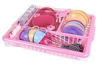 Детский игровой набор посуды Кухонный набор ТехноК с аксессуарами