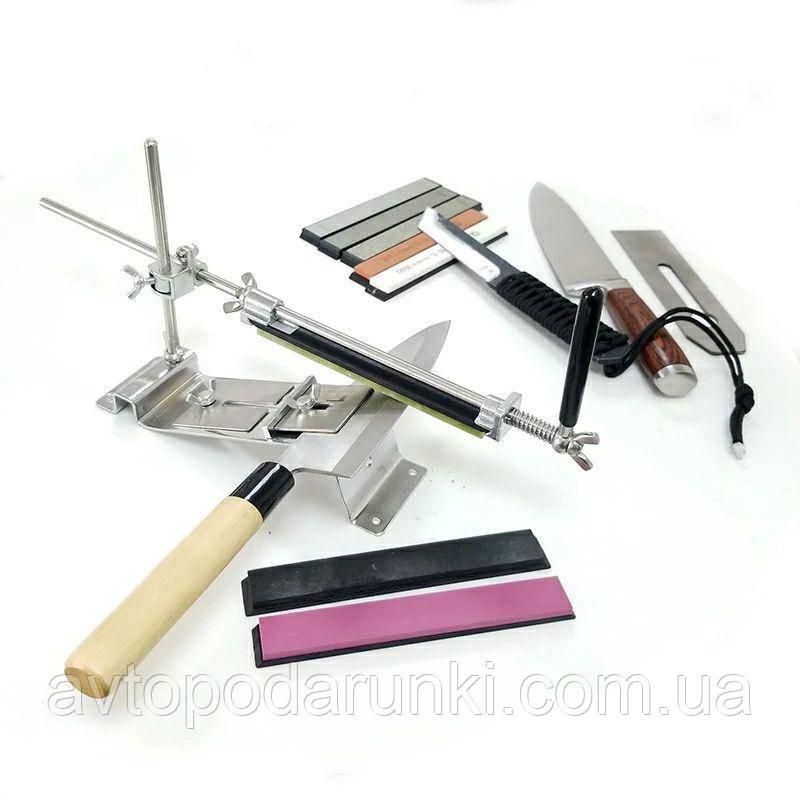 Станок для заточки ножей Ruixin Pro III+4 алмазных  камня, профессиональная точилка для ножей, инструмент для