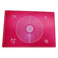 Силиконовый коврик 50 х 70 см Розовый 1294