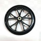 Колесо для самоката 200мм с подшипником АВЕС-7(черный), фото 2