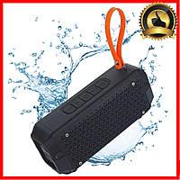 Портативная беспроводная Bluetooth колонка Hopestar P17 (Черная). USB, FM, стерео акустика, колонки на телефон