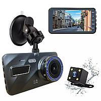 Видеорегистратор для автомобиля DVR А10+ Full HD 4 LCD WDR Premium Class с выносной камерой заднего вида 2