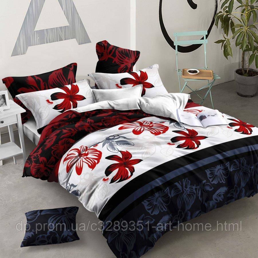Семейное постельное белье Бязь Ranforse (100% хлопок) - Цветок пустыни