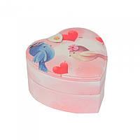 Шкатулка для ювелирных украшений Birds сердце SKL11-208512