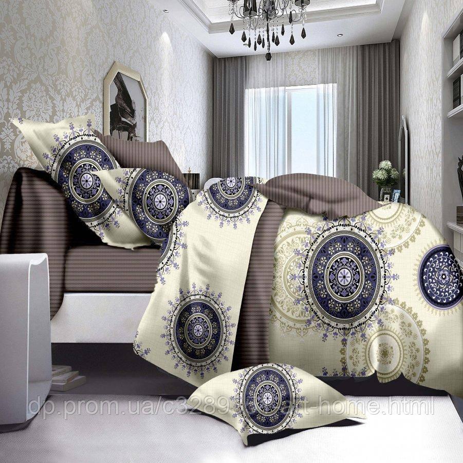 Семейное постельное белье Бязь Ranforse (100% хлопок) - Курорт