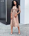 """Жіноча сукня """"Шоколад"""" від СтильноМодно, фото 7"""