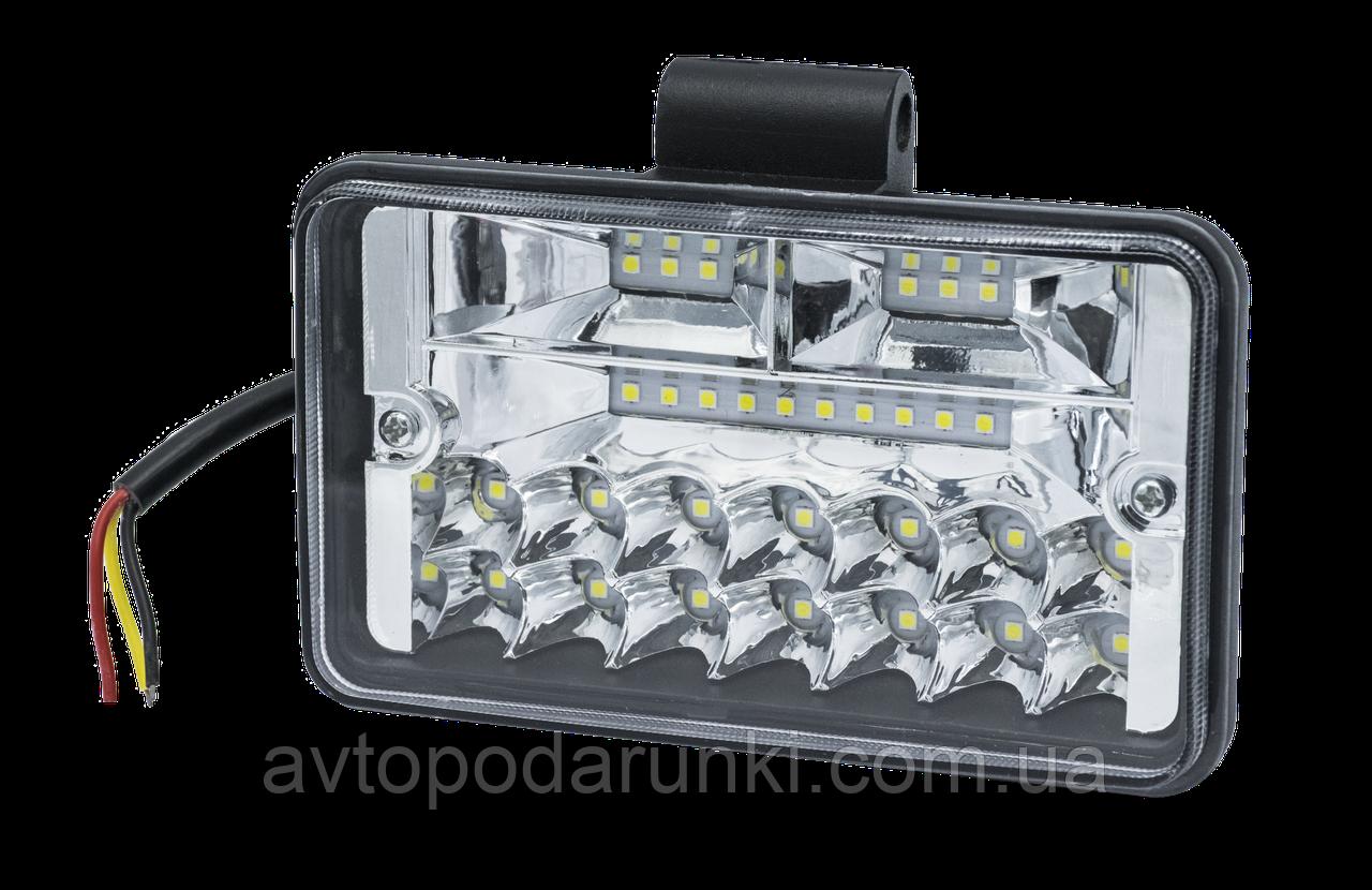 Светодиодная фара LED-30W COMBO ( 30Вт , дальний/ближний  свет, прямоугольная )