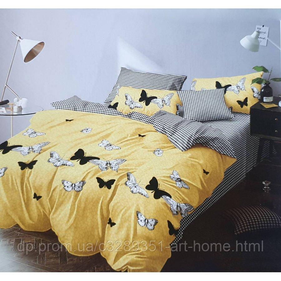 Семейное постельное белье Бязь Gold - Домашние бабочки