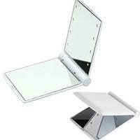 Мини-зеркало с подсветкой 8 Led Белое, фото 1