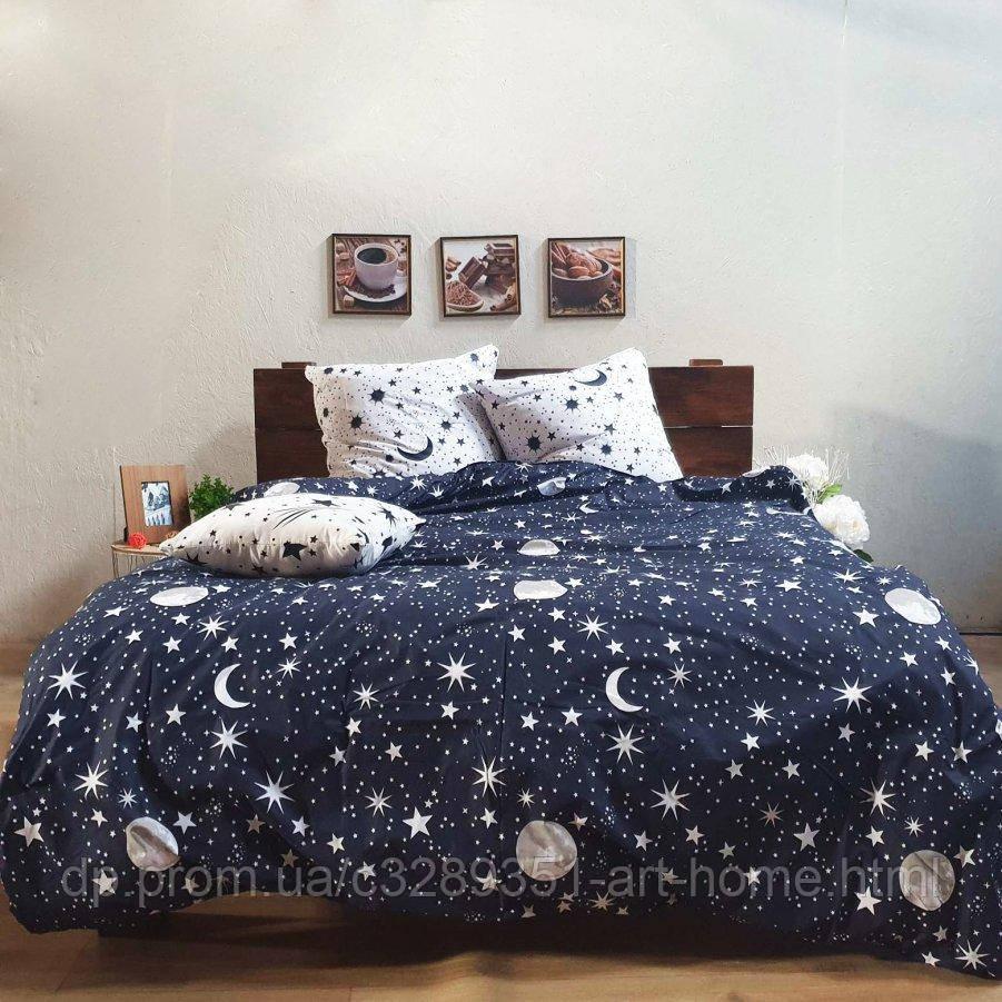 Семейное постельное белье Бязь Gold - Луна