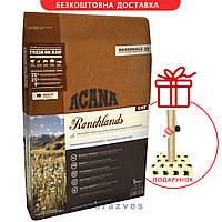 Сухой корм Acana Ranchlands Cat 5,4кг + Когтеточка в подарок