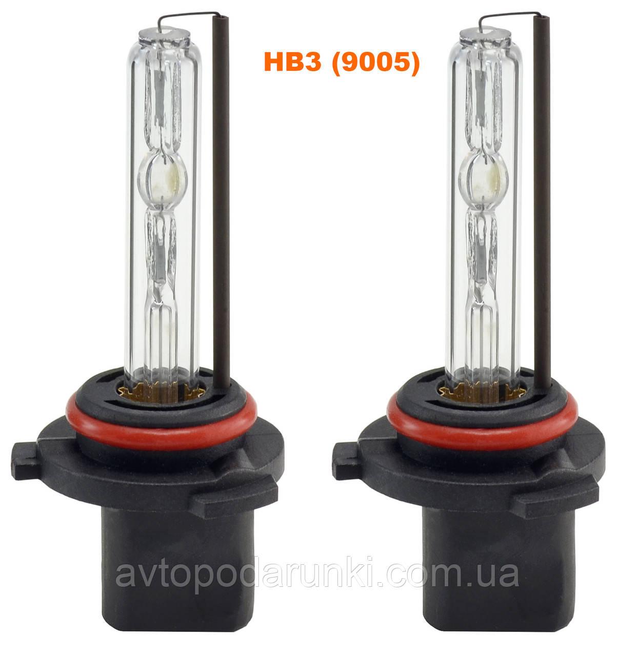 Ксеноновая лампа PREMIUM, лампа ксенон HB3 (9005)  5000K ( 35w, 12мес. гарантия ) / 2шт