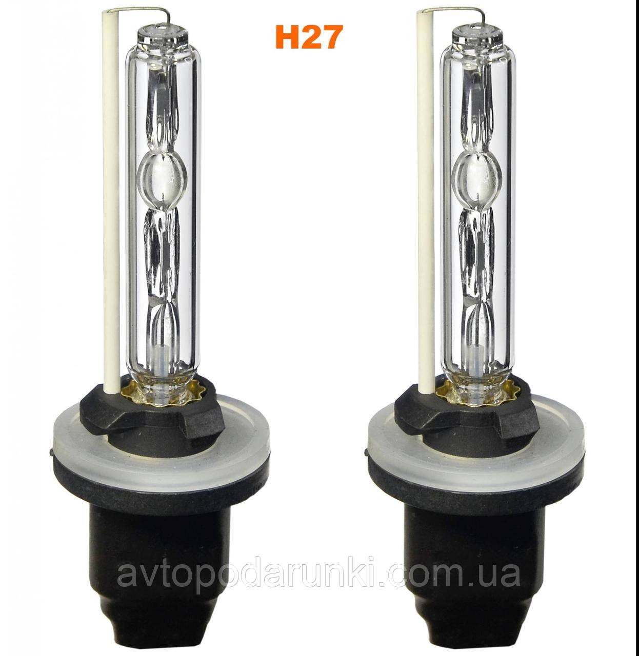 Ксеноновая лампа PREMIUM, лампа ксенон H27 5000K  ( 35w, 12мес. гарантия ) / 2шт