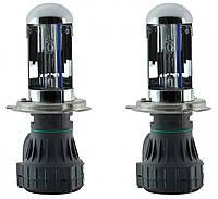Бі-ксенонова лампа PREMIUM, лампа БІ ксенон H4 5000K ( 35w, 12мес. гарантія ) / 2шт