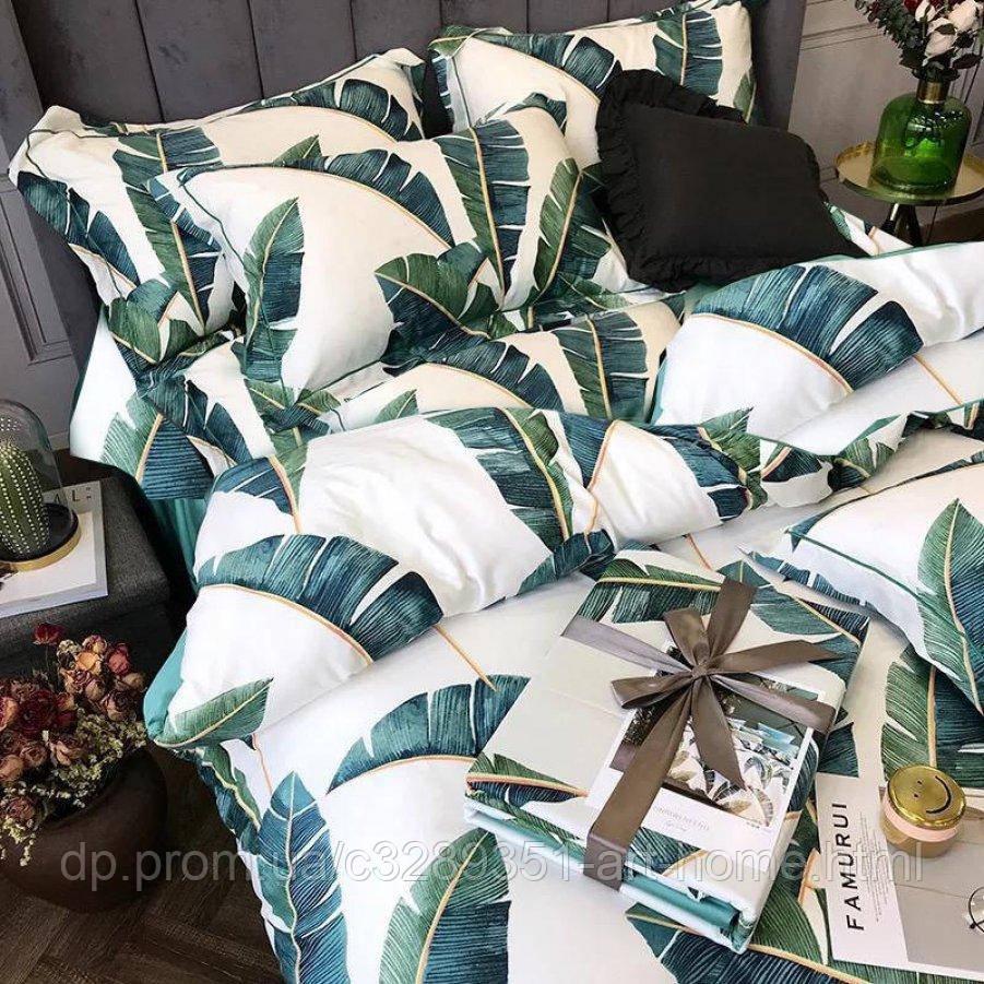 Двуспальное постельное белье Бязь Gold - Экзотика тропиков