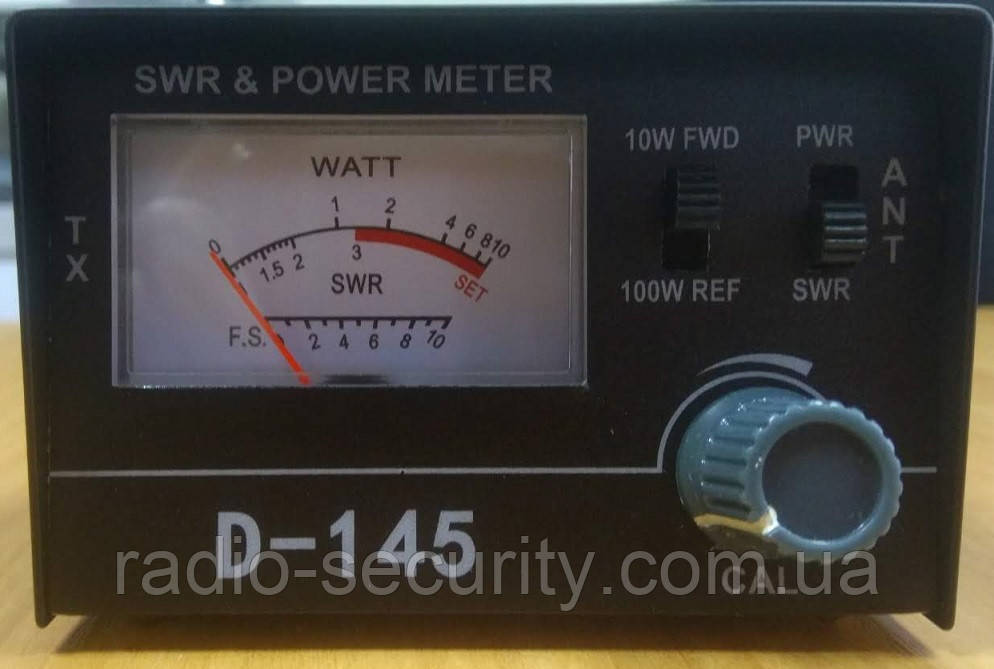КСВ-метр PRESIDENT TOS/WATT METR (D-145)