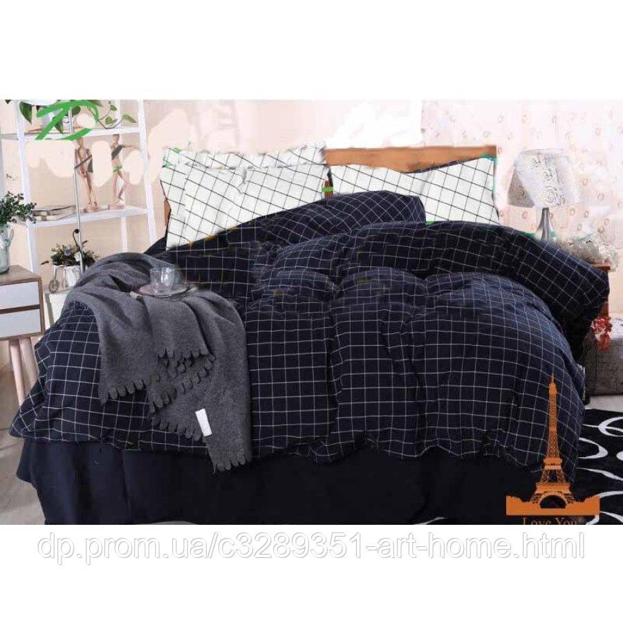 Двуспальное постельное белье Бязь Gold - Отдохнуть солидно