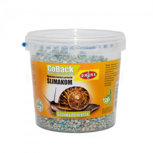 Натуральна принада від слимаків і равликів Rapax, 1 кг