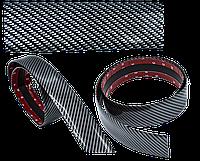 Молдинг лента универсальная (карбоновая) шириной 50мм для тюнинга и защиты кузова автомобиля. Цвет карбон