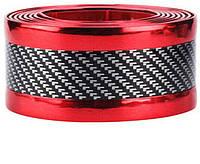 Молдинг лента универсальная (карбоновая) шириной 50мм для тюнинга и защиты кузова автомобиля. Цвет