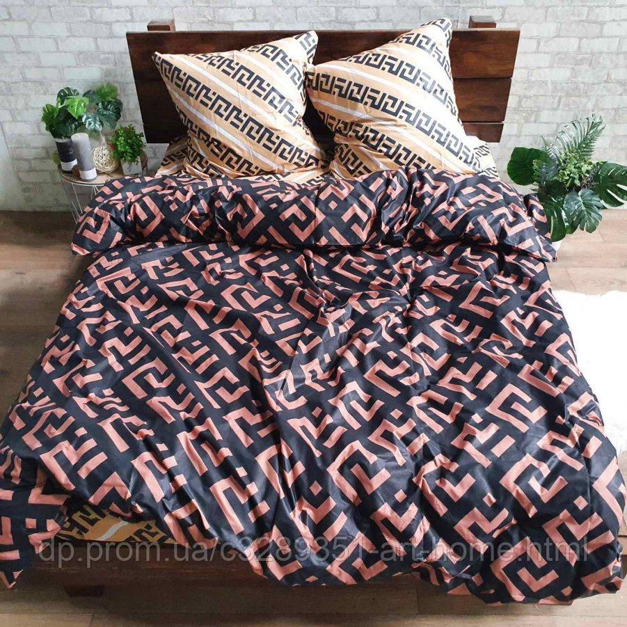Двуспальное постельное белье Бязь Gold - Лабиринт