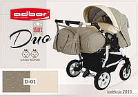 Детская коляска для двойни Adbor Duo stars D-01