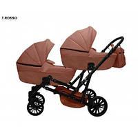 Детская коляска для двойни MIKRUS GEMELLO 07