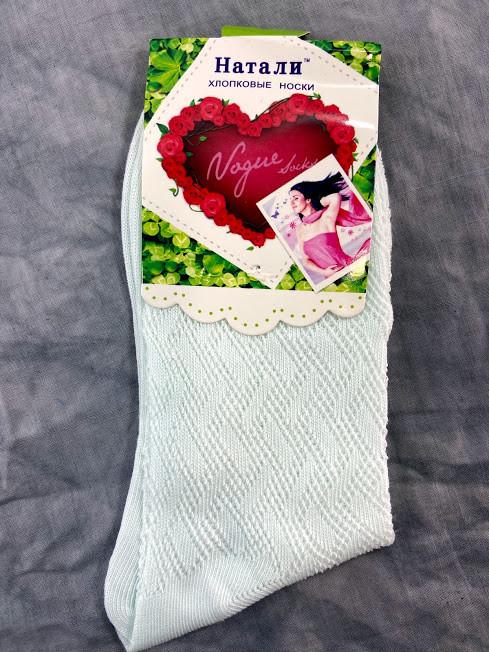 Шкарпетки Жіночі Стрейч Nanhai м'ятний 37-41