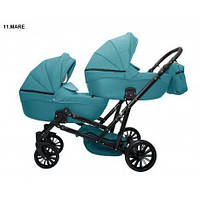 Детская коляска для двойни MIKRUS GEMELLO 11