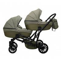 Детская коляска для двойни MIKRUS GEMELLO 20