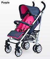 Детская прогулочная коляска Caretero Moby purple