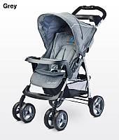 Детская прогулочная коляска Caretero Monaco grey