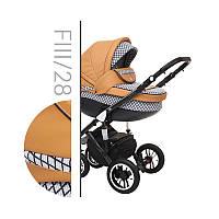 Детская универсальная коляска 2 в 1 Baby Merc Faster Style 3 FllI/28