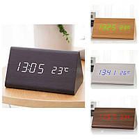 Настольные электронные часы VST 861 с термометром