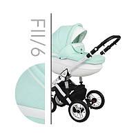 Дитяча універсальна коляска 2 в 1 Baby Merc Faster Style II Fll/6
