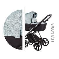Детская универсальная коляска 2 в 1 Baby Merc La Rosa LR.LN03.B
